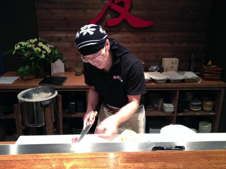 Chef  Tomoya Mutaguchi