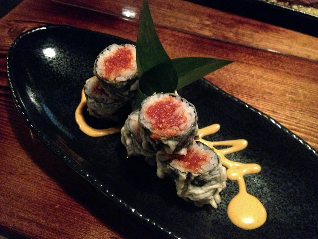 Crispy Spicy Tuna Roll