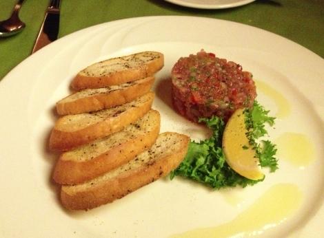 Basque Tuna Tartar
