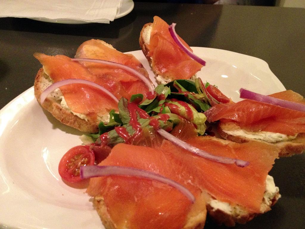 Bruschetta - Salmone