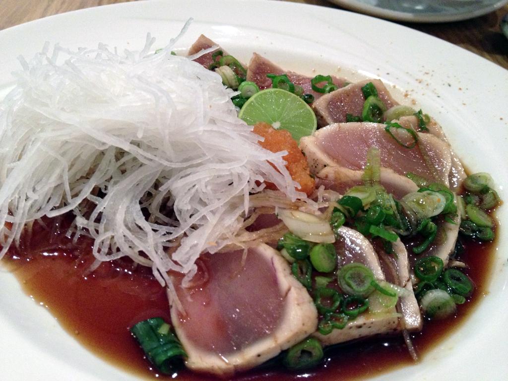 Spicy Tuna Tataki