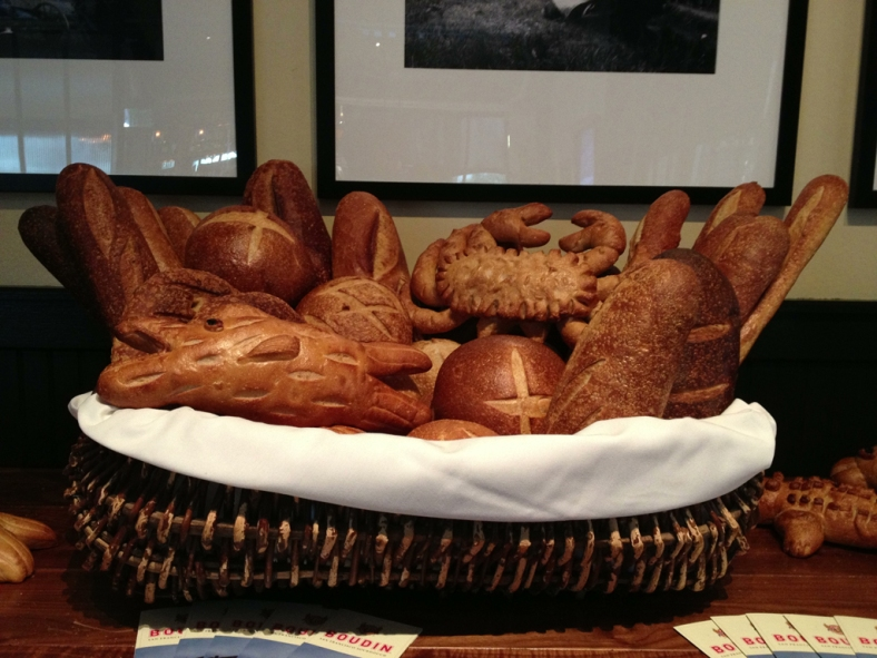 Finished Bread Display