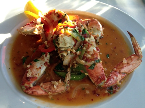Red Chili Garlic Crab