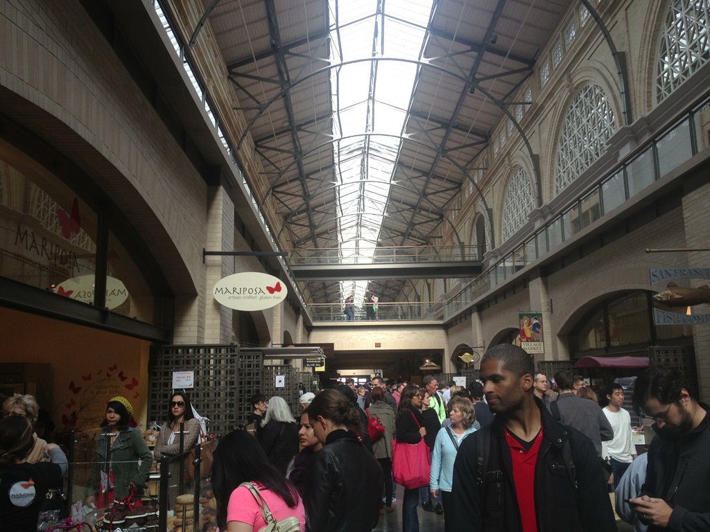 Inside Ferry Building