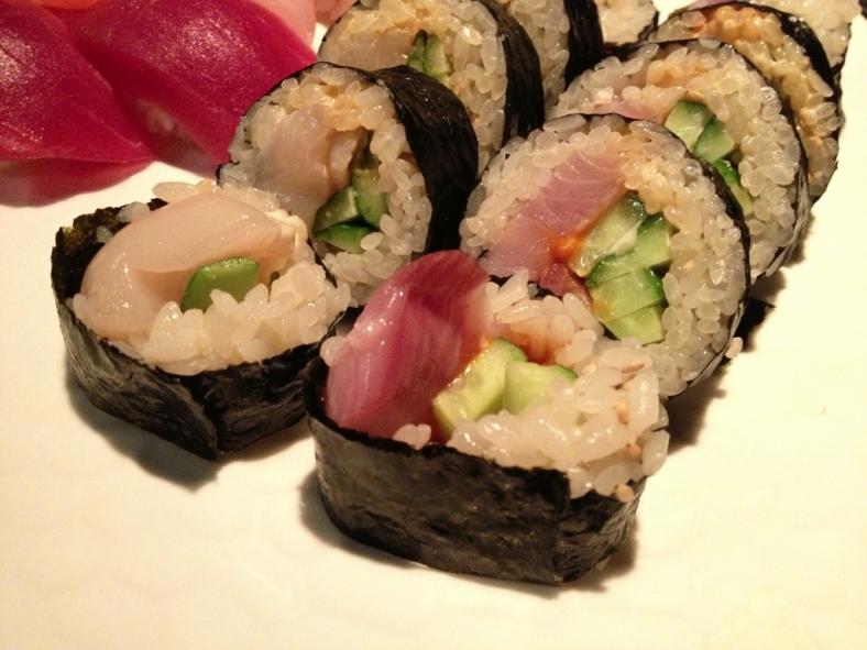 Spicy Scallop and Hot Tuna